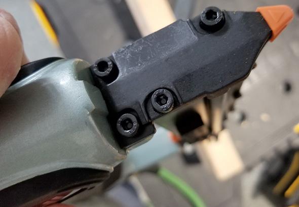 Hitachi Air Pin Nailer Depth Adjustment