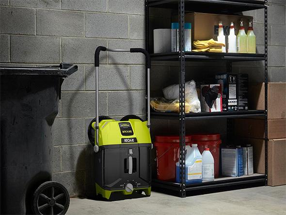 Ryobi Devour Cordless Sweeper Storage