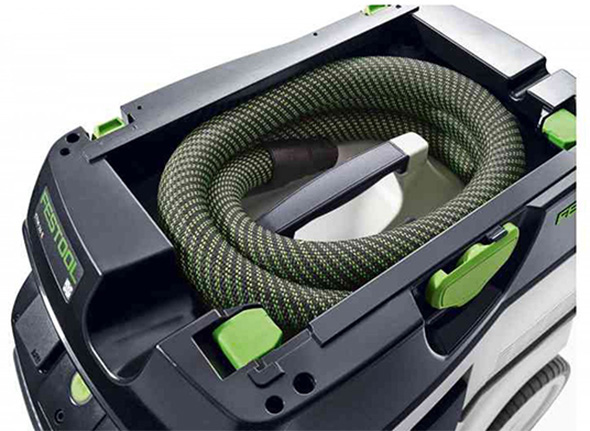 Festool 2018 Dust Extractor Sleeved Hose Storage