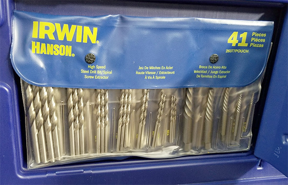 Irwin Hanson Tap and Die Set Drill Bits