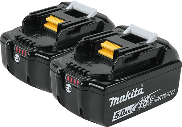 Makita 5Ah Battery 2-Pack