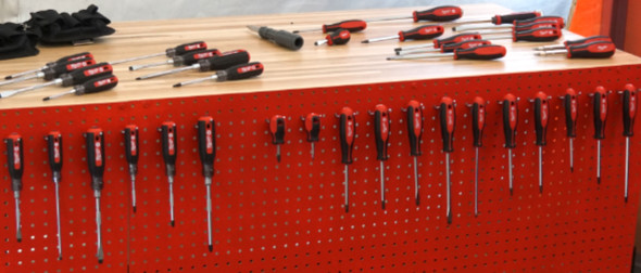 Milwaukee New Screwdriver Display at NPS17