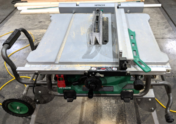 Hitachi Corded 10 Inch Table Saw