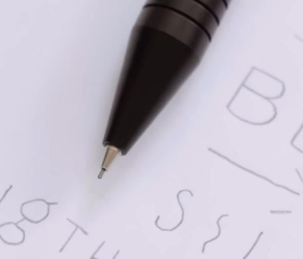 Grafton Pencil Tip Closeup