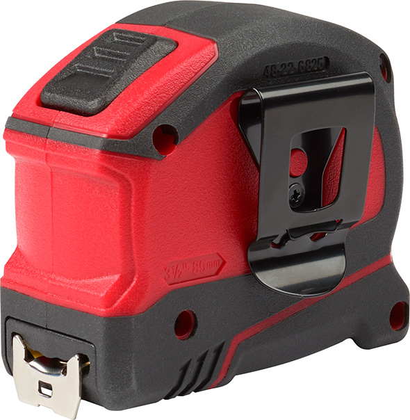 Milwaukee 25-foot Auto Locking Tape Measure Belt Clip