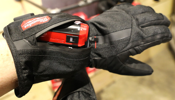 Milwaukee Heated Gloves powered by RedLithium USB