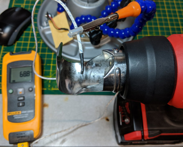 Testing Milwaukee Heat Gun Temperature and Warmup Time