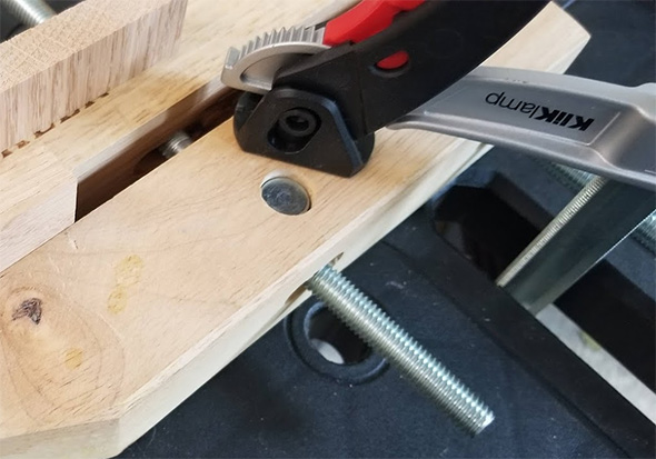 Bessey KliKlamp in Use