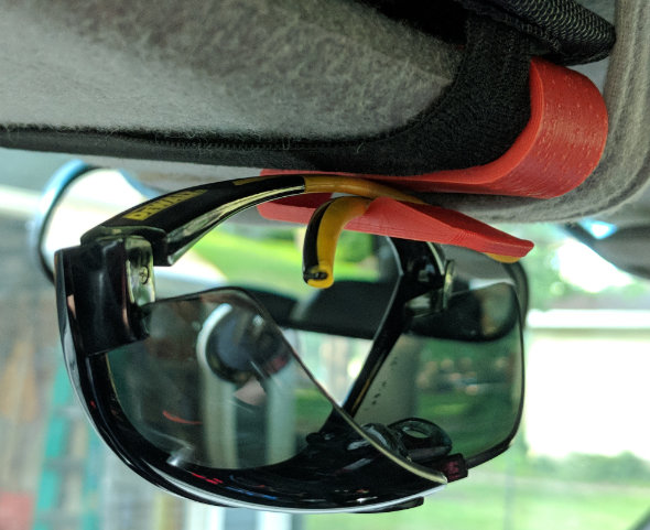 Sunglasses holder remix by moacmoa thing number 2797280