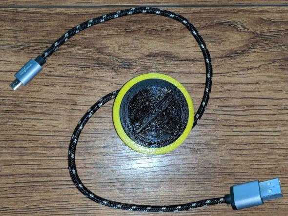 3D Printed Cord Winder