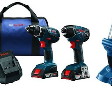 Bosch 18V Drill and Impact Driver and LED Flashlight Deal of the Day