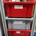 Industrial Container Cabinet Build