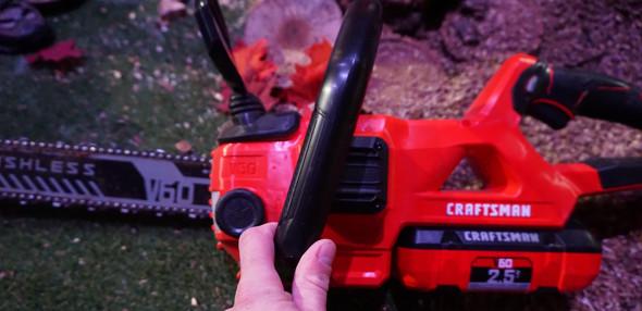 Craftsman V60 Chainsaw Oil Filler Cap Side