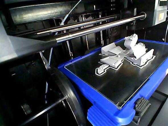 Dremel 3D45 finished print photo of K9