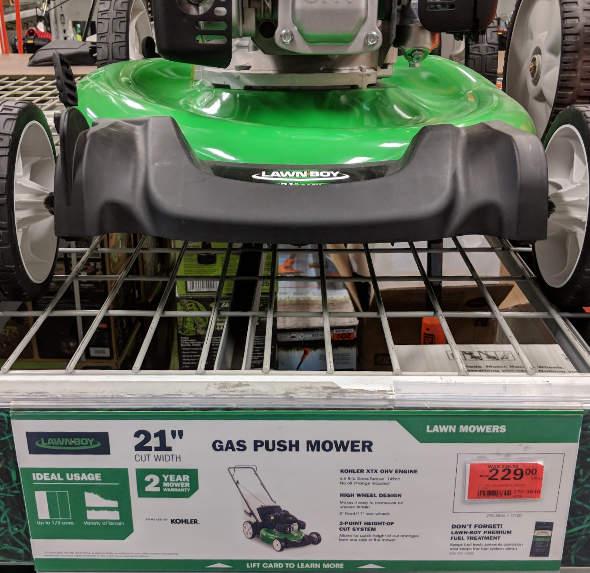 LawnBoy 21 inch cut width mower