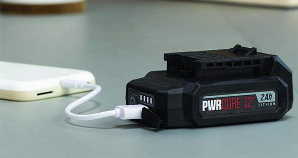Skil PWRCore 12 Battery Pack USB Charger