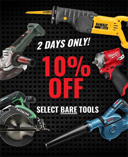 Acme Tools Bare Tool Sale