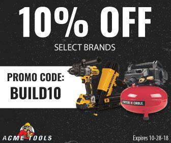 Acme Tools Power Tools Brand Sale Oct 2018