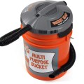 Bucket Head 5 Gallon Bucket Vacuum