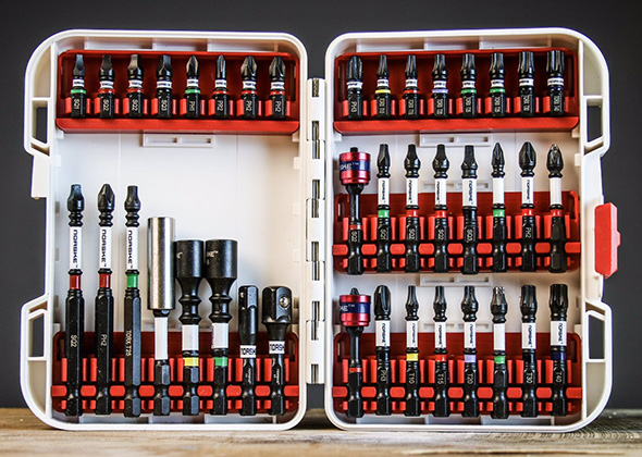 Norske Tools Impact Screwdriver Bits