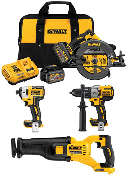 Dewalt DCK499T2 Cordless Power Tool Combo Kit