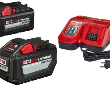 Free Milwaukee XC6 battery with HD12 starter kit hero