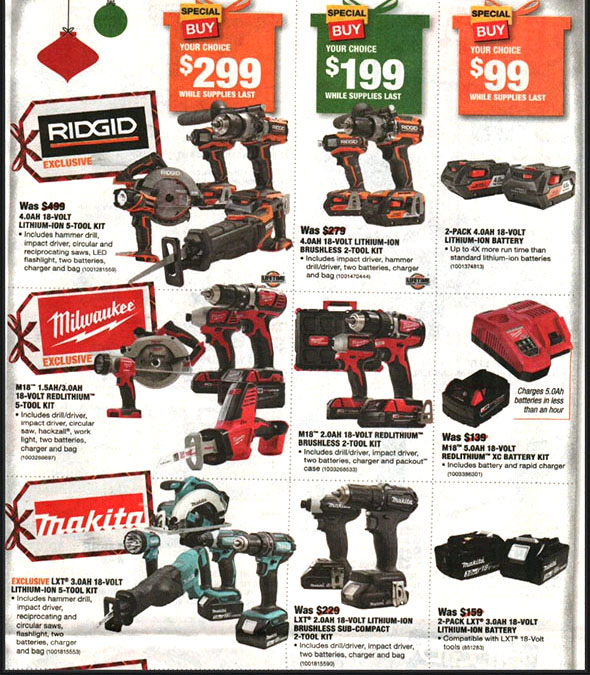 Home Depot Black Friday 2018 Tool Deals Page 11