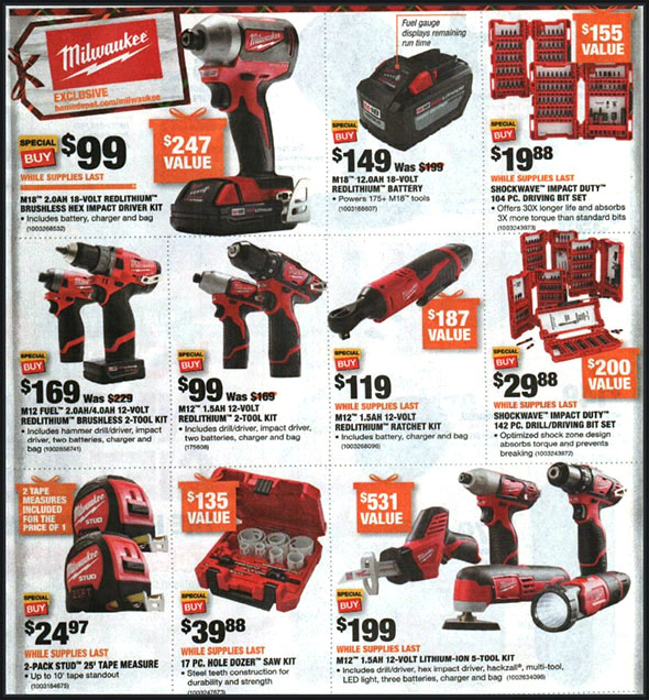 Home Depot Black Friday 2018 Tool Deals Page 3