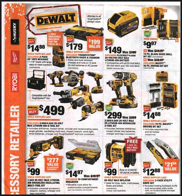 Home Depot Black Friday 2018 Tool Deals Page 5