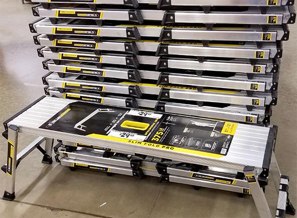 Home Depot Pro Black Friday 2018 Tool Deals Gorilla Ladders Slim Pro Work Platform