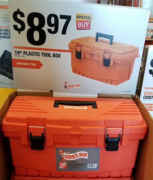Home Depot Pro Black Friday 2018 Tool Deals Homer Tool Box