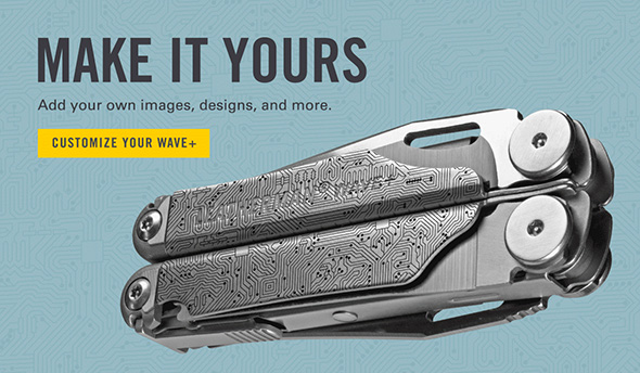 Leatherman Wave Plus Custom Shop Pattern 3