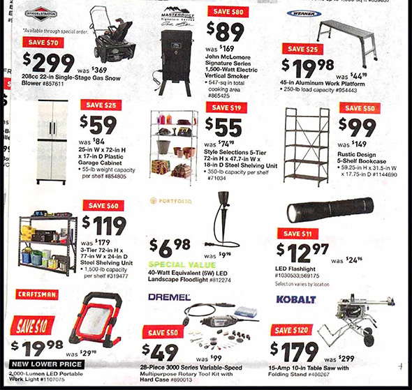 Lowes Black Friday 2018 Tool Deals Page 3
