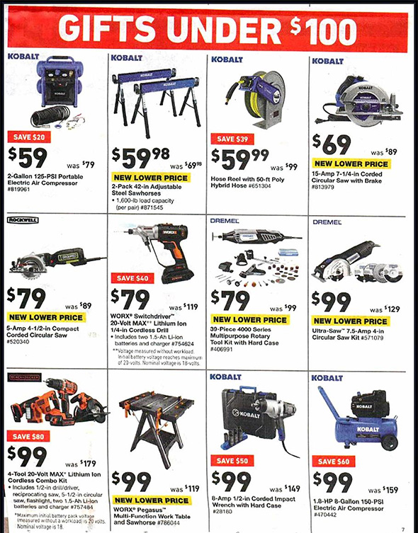 Lowes Black Friday 2018 Tool Deals Page 8