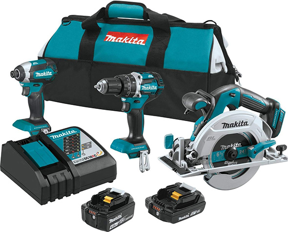 Makita XT333X1 18V Brushless Cordless Power Tool Kit