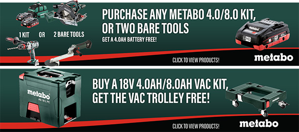 Metabo Pre-Black Friday 2018 Tool Deals