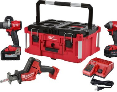 Milwaukee M18 FUEL Cordless Drill and Impact Driver and Hackzall with Packout Tool Box Promo 2018