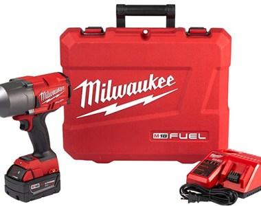 Milwaukee M18 Fuel High Torque Impact Wrench Kit