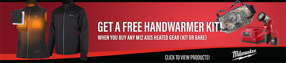 Ohio Power Tool Milwaukee Deals Holiday 2018 Free Handwarmer