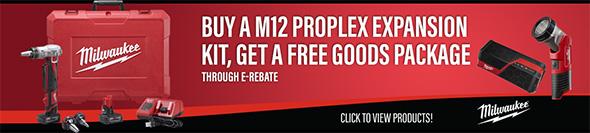Ohio Power Tool Milwaukee Deals Holiday 2018 M12 Propex E-Rebate