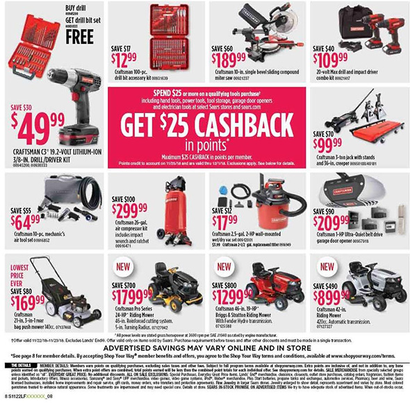 Sears Black Friday 2018 Tool Deals Page 4
