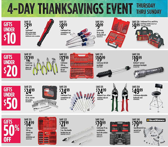 Sears Black Friday 2018 Tool Deals Page 6