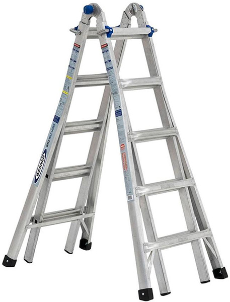 Werner Aluminum Multi-Functional Ladder