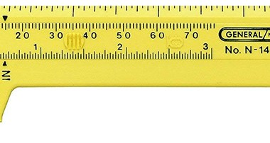 Plastic Pocket Calipers