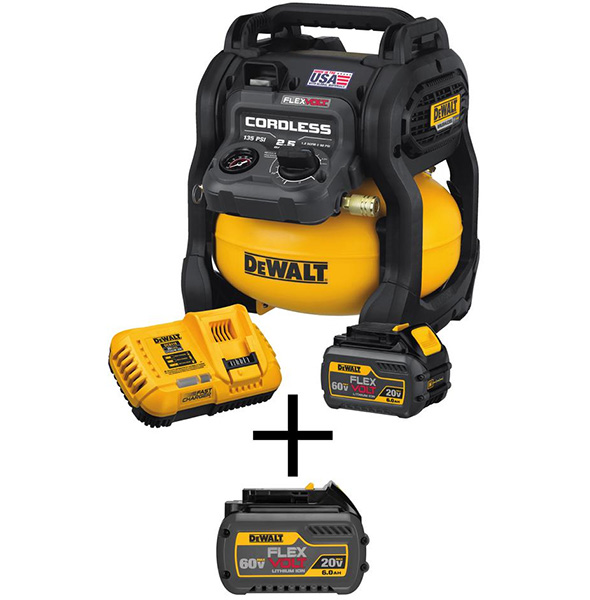 Dewalt FlexVolt Cordless Air Compressor Bundle