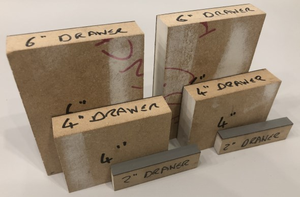 Journey to an Organized Workshop Part 4 - Drawer Spacers