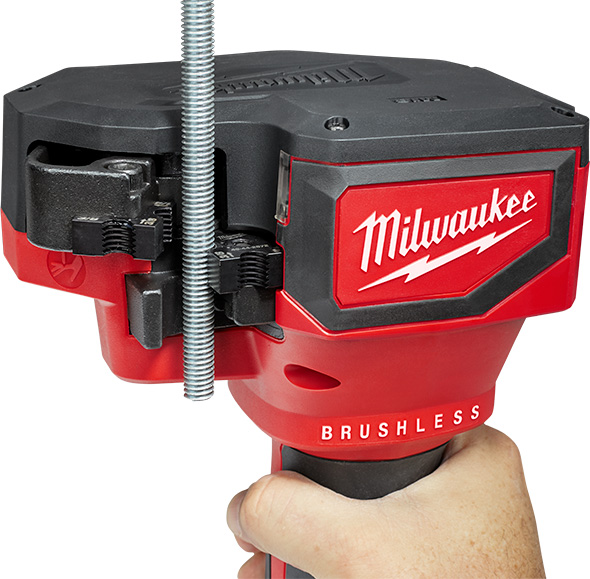 Milwaukee M18 Brushless Threaded Rod Cutter 2872 Application Example