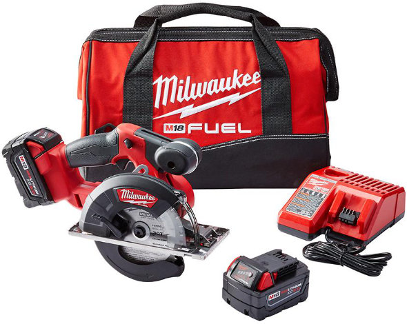 Milwaukee M18 Fuel Metal Cutting Circular Saw kit