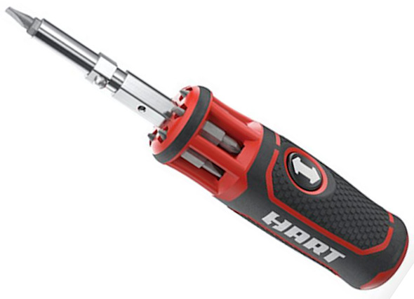 Hart Multi-Bit Screwdriver