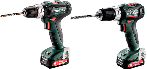 Metabo 12V Cordless Hammer Drills